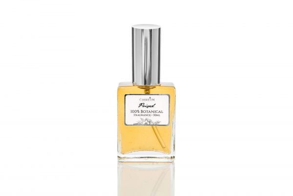 'Poised' all natural botanical perfume, 30ml.